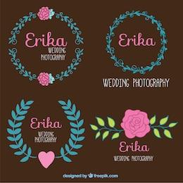 Photographie de mariage badges