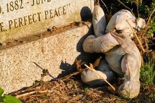 pierre tombale nounours photo