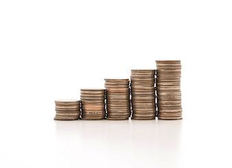 Piles de monnaie