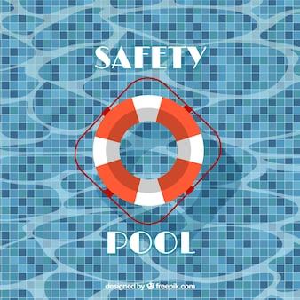 piscine de sécurité
