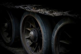Piste et roues