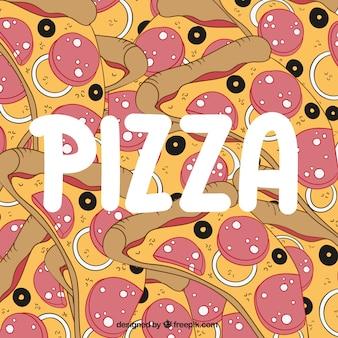 Pizza fond