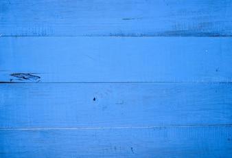 Planches en bois bleu
