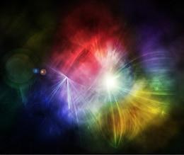 plusieurs de fond arrondi de couleur abstraite psd