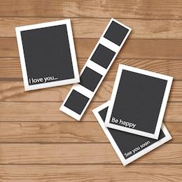 Polaroid cadres photo collection