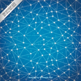 Polygonale structure de fond