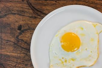 Préparation aux omelettes Calorie Déjeuner savoureux