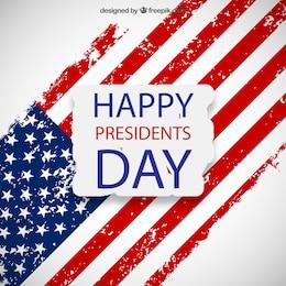 Présidents heureux carte de jour