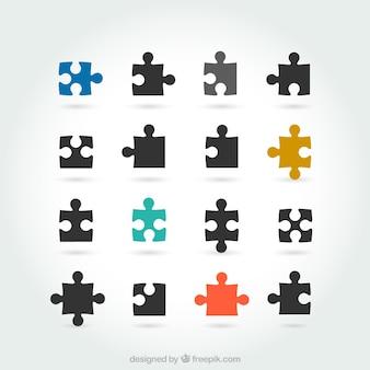 Puzzle morceaux