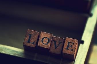 """""""Amour"""" en bois"""
