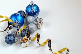 """Assortiment de décorations de Noël"""