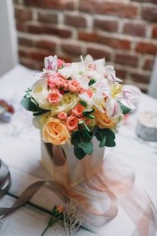 """""""Bouquet doux en vase"""""""