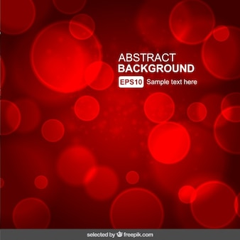 Red abstract background floue