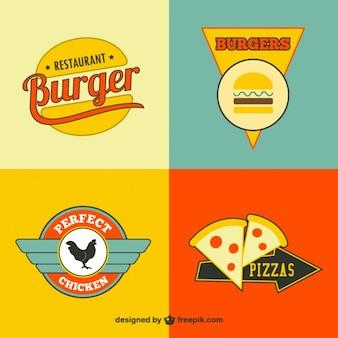Restaurant fast food logos gratuit
