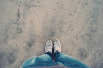 Rester sur le sable