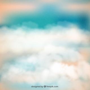 Résumé ciel nuageux fond