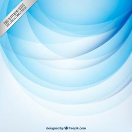 Résumé de fond avec des cercles bleus