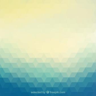 Résumé de fond en style géométrique