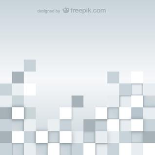 Résumé gris carrés fond
