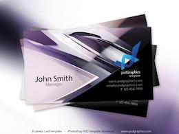 Résumé salut-technologie de conception, cartes de visite