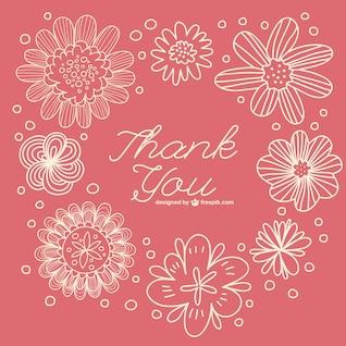 Rétro floral vous remercient de noter