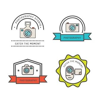 Rétro photographie badges