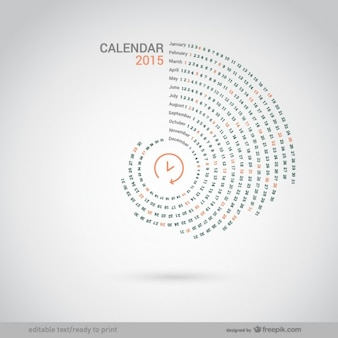 Ronde 2015 calendrier