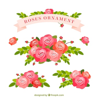 Roses ornement