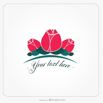 Roses de dessin vectoriel