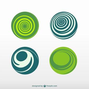 Logos de forme ronde téléchargement gratuit