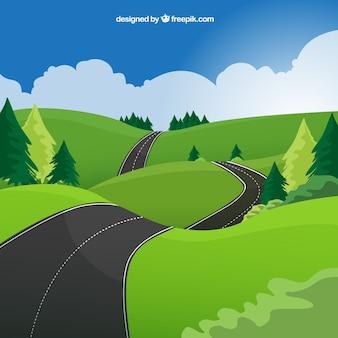 Route ondulés