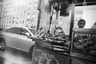 Rue étal de nourriture