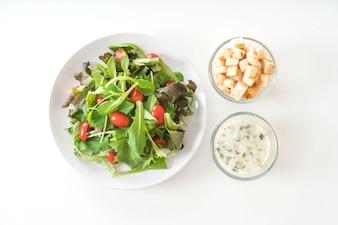 Salade de légumes frais