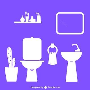Salle de bains design plat