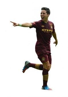 Samir nasri homme City Premier League