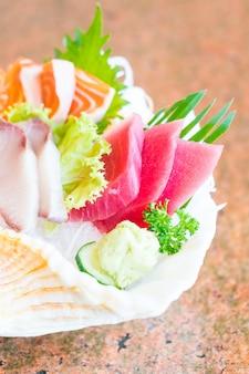 Sashimi brut et frais