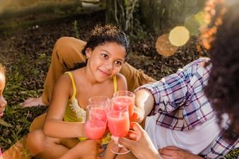 Sauté de boisson familiale