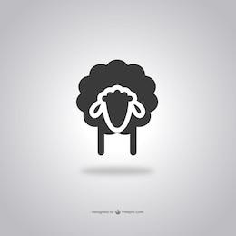 Sheep tête icône