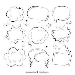 Sketchy discours comique bulles