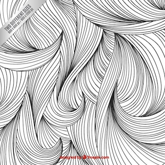 Sketchy fond de cheveux