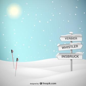 La saison de ski