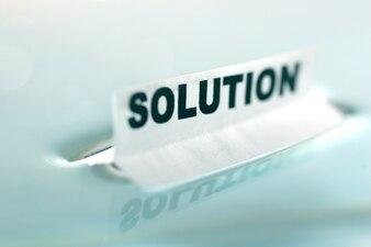 Solution d'affiche