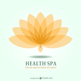 Spa emblème station de lotus logo