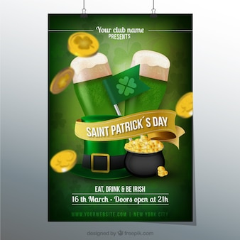 Affiche de jour de St Patricks