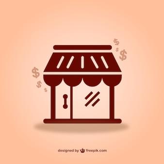 Vecteur de magasin graphique à télécharger gratuitement