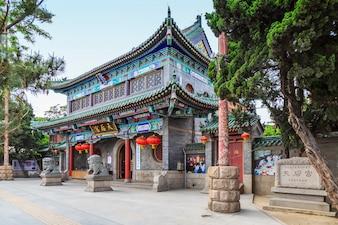 Structure asiatique histoire belle bois décoratif