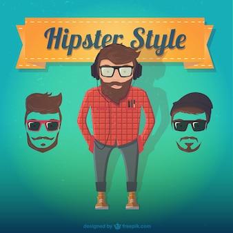 Style hippie Homme