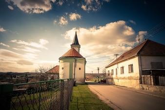 Sud village de Moravie