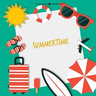 Summertime fond