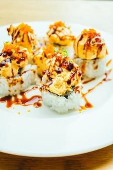 Sushi à la crème
